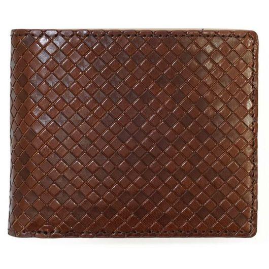 NAUGHTIAM ノーティアム 二つ折り財布 エンボスレザーシリーズ