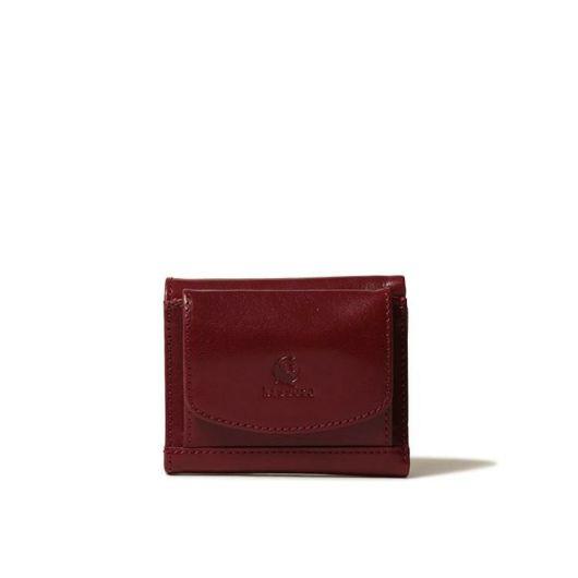 キソラ 三つ折り財布 ミニ財布 シエナ レディース KIVP-078 日本製 kissora|本革 レザー